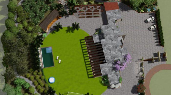 Ландшафтный дизайн, планировка участка