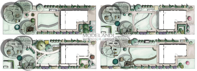 концепции дизайна ландшафта