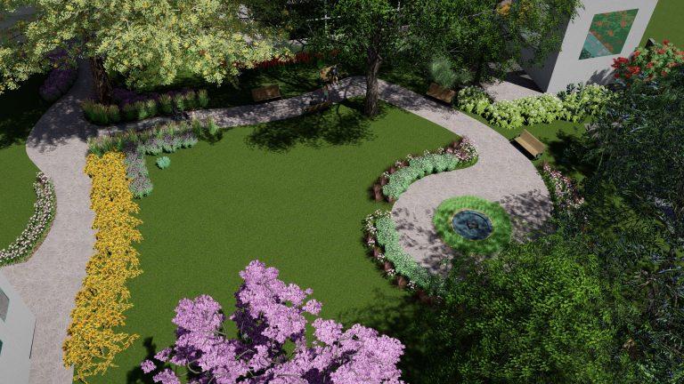 ландшафтный проект парка
